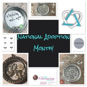Jewelry - National Adoption Month! Customize a charm locket!